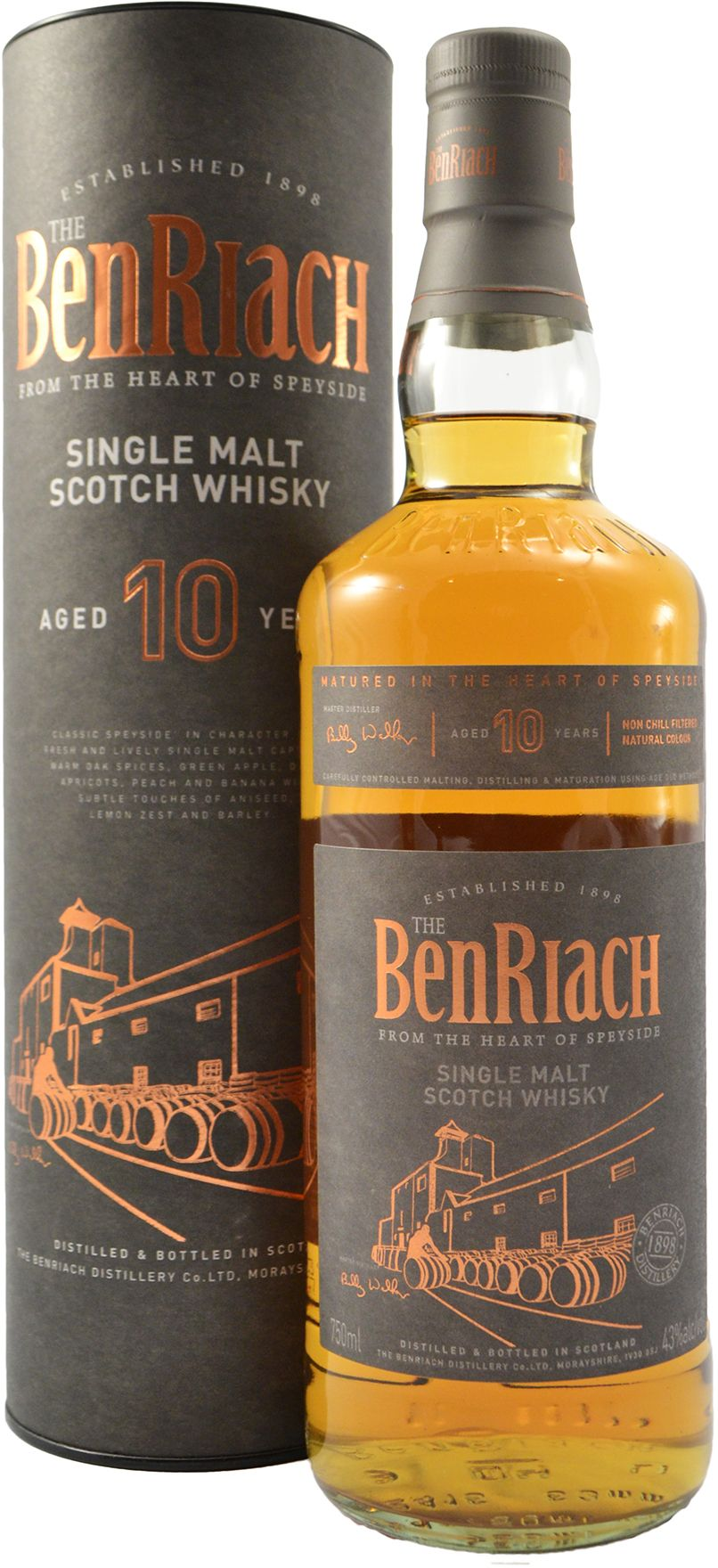 BenRiach 10 year old 750ML Image